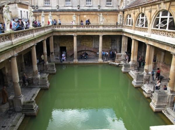 Римские бани фото