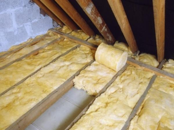 Пирог потолка в бане