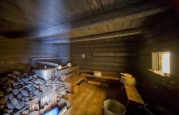 Русская баня парилка