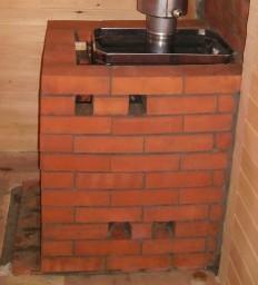 Облицовка печи в бане